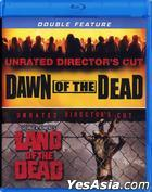Dawn Of The Dead (2004) / Land Of The Dead (2005) (Director's Cut) Double Feature (Blu-ray) (US Version)