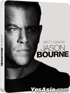 Jason Bourne (2016) (Blu-ray) (Steelbook) (Hong Kong Version)