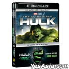 The Incredible Hulk + The Hulk Double Pack (4K Ultra HD + Blu-ray) (4-Disc) (Limited Edition) (Korea Version)