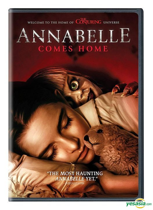 Yesasia Annabelle Comes Home 2019 Dvd Us Version Dvd Mckenna Grace Madison Iseman Warner Brothers Home Entertainment Western World Movies Videos Free Shipping