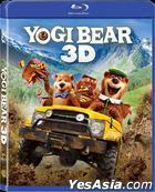 Yogi Bear (2011) (Blu-ray) (3D + 2D Version) (Hong Kong Version)
