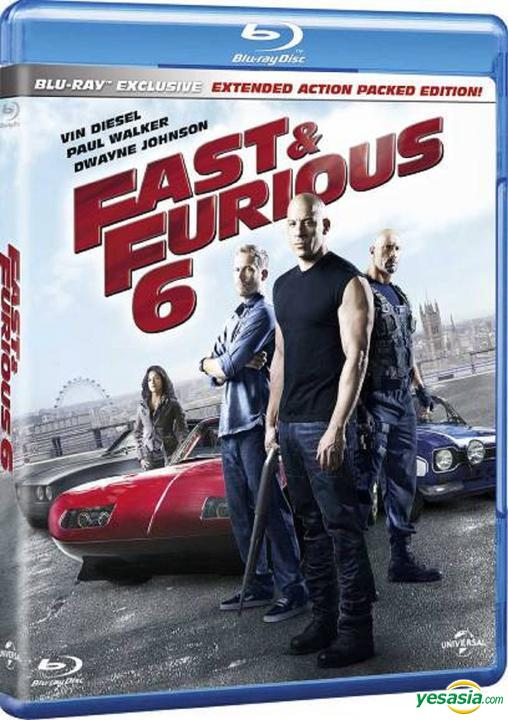 Yesasia Fast Furious 6 2013 Blu Ray Hong Kong Version Blu Ray Vin Diesel Paul Walker Intercontinental Video Hk Western World Movies Videos Free Shipping