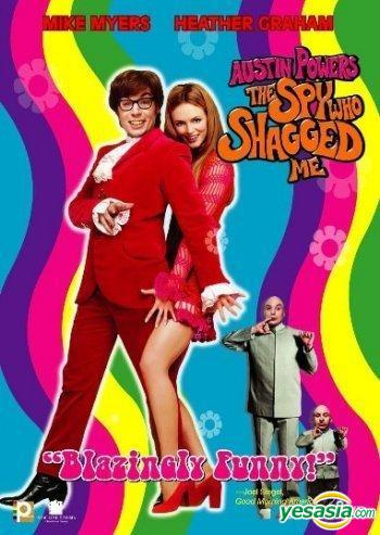 Yesasia Austin Powers The Spy Who Shagged Me 1999 Dvd Panorama Version Hong Kong Version Dvd Mike Myers Heather Graham Panorama Hk Western World Movies Videos Free Shipping