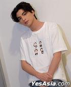 GOLY.BKK x Gulf Kanawut - T-Shirt (White) (Size L)