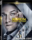 X-Men: First Class (2011) (Blu-ray) (Hong Kong Version)