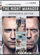 The Night Manager (2016) (DVD) (Ep. 1-6) (Uncensored Edition) (BBC TV Mini-Series) (US Version)