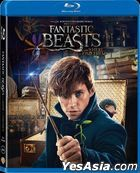 Fantastic Beasts and Where to Find Them (2016) (Blu-ray) (Hong Kong Version)