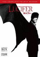 Lucifer The Complete Fourth Season Complete Box (DVD)(Japan Version)