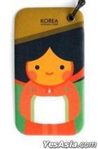 Miraclekorea Traditional Character Travel Name Tag (Version 2) (Gisaeng)