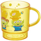 Toys Story/Alien Clear Plastic Cup (Yellow)