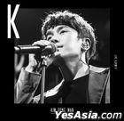 Kim Dong Wan Live Album Vol. 1 - K (CD + DVD + Photobook)