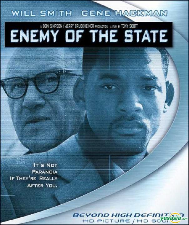 Yesasia Enemy Of The State 1998 Blu Ray Hong Kong Version Dvd Blu Ray Gene Hackman Will Smith Intercontinental Video Hk Western World Movies Videos Free Shipping