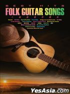 Best Hits Folk Guitar Songs 2 (Score Book + 2 Guitar Version CD )