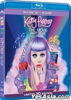 Katy Perry The Movie: Part of Me (2012) (Blu-ray) (2D + 3D) (Hong Kong Version)