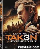 Taken 3 (2014) (Blu-ray) (Hong Kong Version)