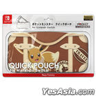 Pokemon Quick Pouch for Nintendo Switch Eevee (日本版)