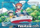 Ponyo on the Cliff by the Sea : Pop-Pop Boat (Art Crystal Jigsaw Puzzle 208 Pieces) (208-AC58)