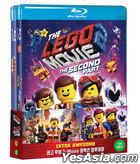 Lego Movie 2-Movie Collection Double Pack: The Lego Movie & The Lego Movie 2 (Blu-ray) (2-Disc) (Limited Edition) (Korea Version)