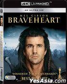Braveheart (1995) (4K Ultra HD Blu-ray) (Single Disc Edition) (Hong Kong Version)