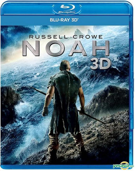 Yesasia Noah 2014 Blu Ray 3d Hong Kong Version Blu Ray Russell Crowe Jennifer Connelly Intercontinental Video Hk Western World Movies Videos Free Shipping