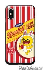 Kakao Friends - Hamburger Slide Card Phone Case (Muzi) (iPhone 7+ / 8+)