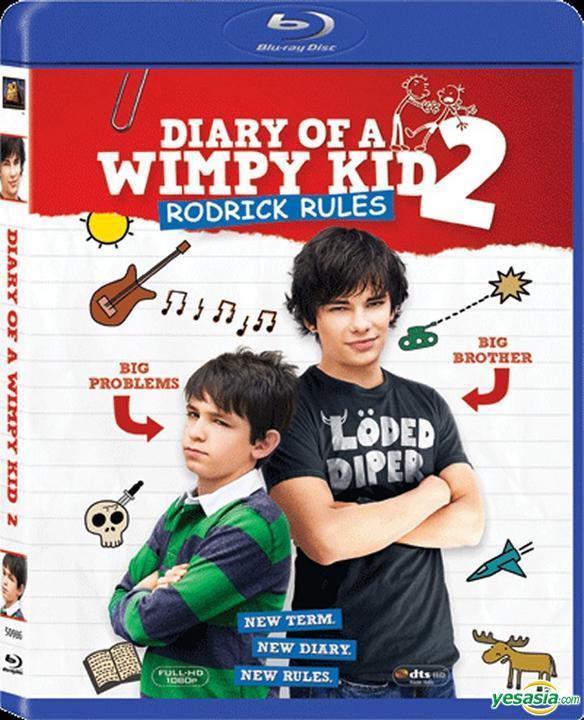Yesasia Diary Of A Wimpy Kid 2 Rodrick Rules 2011 Blu Ray Hong Kong Version Blu Ray Zachary Gordon Devon Bostick 20th Century Fox Western World Movies Videos Free