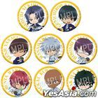 The New Prince of Tennis : Trading Can Badge Onsen Ver. Rikkai