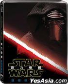 Star Wars: Episode VII - The Force Awakens (2015) (Blu-ray) (Steelbook) (2-Disc Edition) (Taiwan Version)