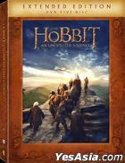 The Hobbit: An Unexpected Journey (2012) (DVD) (5-Disc Extended Edition) (Hong Kong Version)