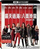 Ocean's 8 (2018) (4K Ultra HD + Blu-ray) (Taiwan Version)