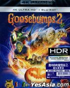 Goosebumps 2: Haunted Halloween (2018) (4K Ultra HD + Blu-ray) (Hong Kong Version)