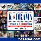 The Best of K-Drama Music OST Vol. 1 (2CD)