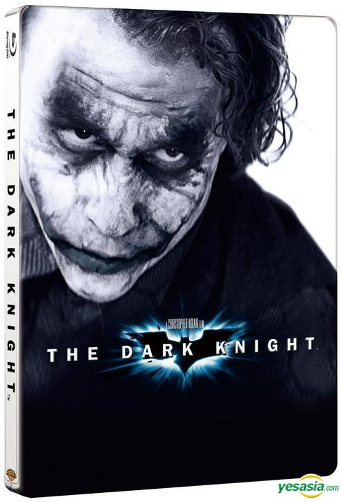 Yesasia Dark Knight Blu Ray 2 Disc Steelbook Limited Edition Korea Version Blu Ray Christian Bale Heath Ledger Warner Bros Publications Kr Western World Movies Videos Free Shipping