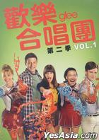 Glee (DVD) (Season 2: Vol. 1) (Taiwan Version)