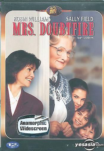 Yesasia Mrs Doubtfire 1993 Dvd Korean Version Dvd Robin Williams Mara Wilson Bitwin Kr Western World Movies Videos Free Shipping North America Site