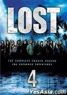 Lost (DVD) (Season 4) (End) (Hong Kong Version)