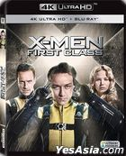X-Men: First Class (2011) (4K Ultra HD + Blu-ray) (Hong Kong Version)