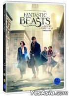 Fantastic Beasts and Where to Find Them (DVD) (Korea Version)
