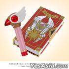 Card Captor Sakura : Cosmetic Set Sealing Wand Lip & Clow Card Book Blush (Limited)