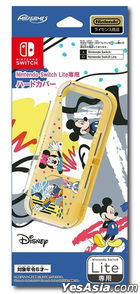 Nintendo Switch Lite Hard Cover Mickey & Friends (Japan Version)