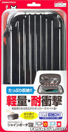 Nintendo Switch Shine Pouch SW (Black) (Japan Version)