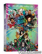 Suicide Squad (2D + 3D + Extended Edition Blu-ray) (3-Disc) (O-Ring Limited Edition) (Korea Version)