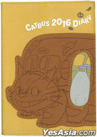 Studio Ghibli : 2016 Schedule Diary Cat Bus