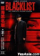 The Blacklist (DVD) (The Complete Second Season) (Taiwan Version)