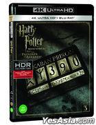 Harry Potter and the Prisoner of Azkaban (4K Ultra HD + 2D Blu-ray) (2-Disc) (Limited Edition) (Korea Version)