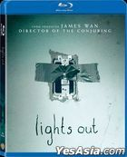 Lights Out (2016) (Blu-ray) (Hong Kong Version)