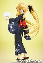Magical Girl Lyrical Nanoha The Movie 2nd A's : Fate Testarossa Yukata Ver. 1:8 Pre-painted PVC Figure