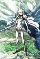 Claymore (DVD) (Vol.8) (Normal Edition) (Japan Version)