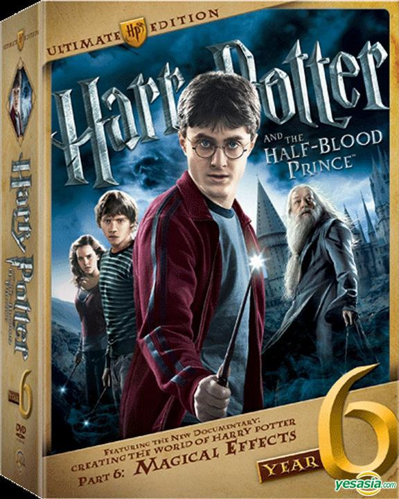 Yesasia Harry Potter And The Half Blood Prince 2009 Dvd Ultimate Edition Hong Kong Version Dvd Daniel Radcliffe Rupert Grint Warner Music Taiwan Western World Movies Videos Free Shipping