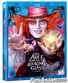 Alice Through the Looking Glass (3D Blu-ray) (Korea Version)